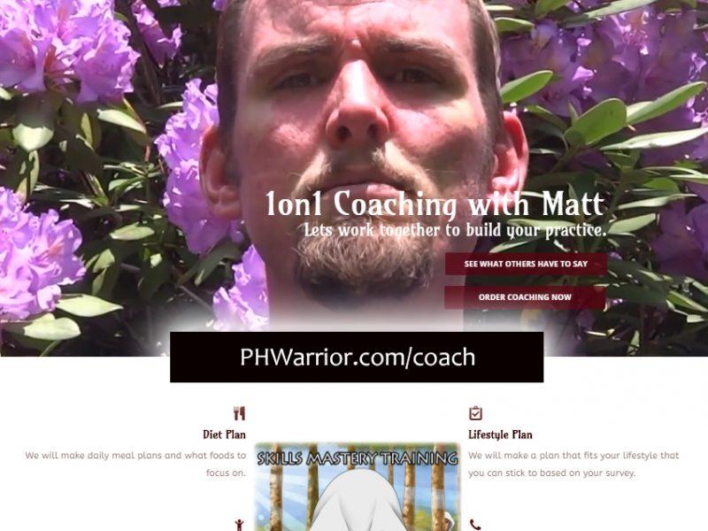 PHWarrior.com/Coach