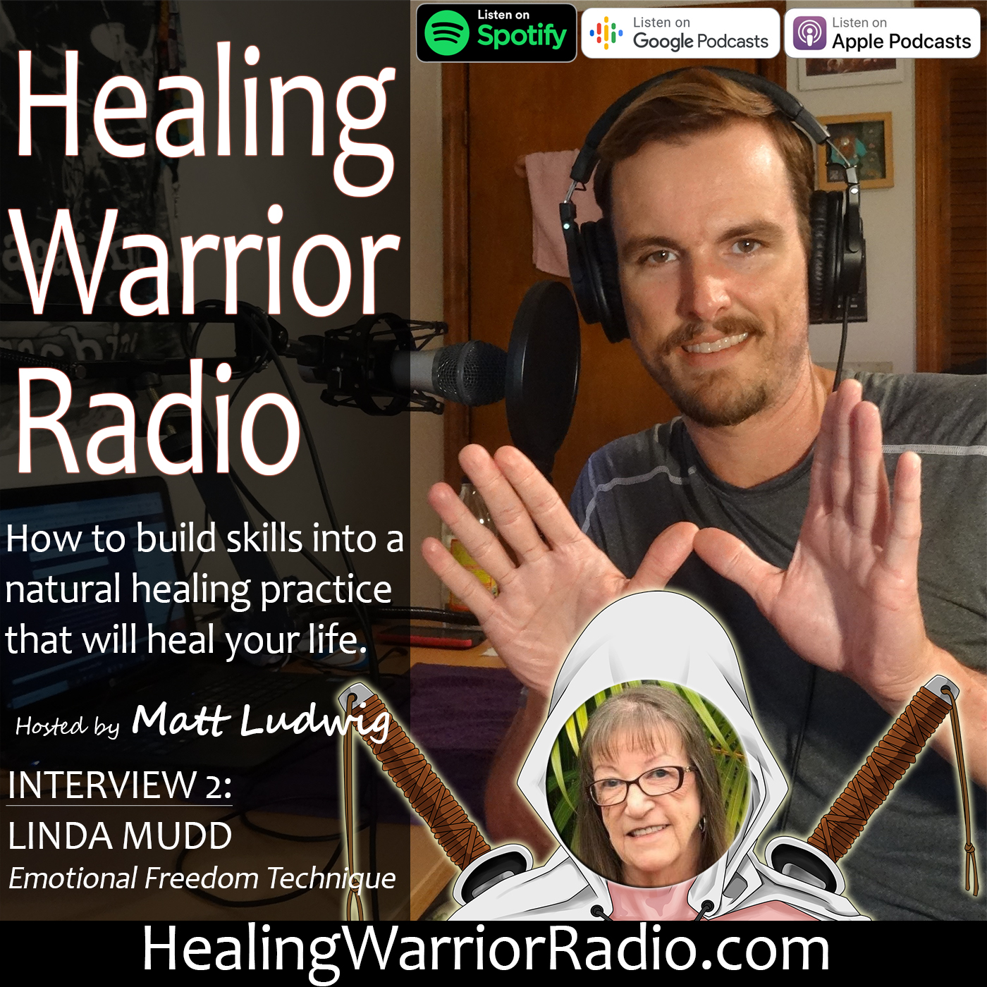 Interview: Healing Psoriasis through Emotional Freedom Techniques (EFT) with Linda Mudd
